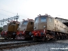 Le E 428 014, 226 e 202 esposte  al Porte Aperte di Pistoia. (24/09/2011; foto Michele Sacco / TuttoTreno)