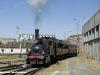 Il treno navetta con la T3 n°3 del Museo Ferroviario Piemontese in arrivo a Torino Smistamento da Porta Nuova. (09/10/2011; foto Marco Carlone / tuttoTreno)