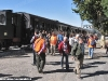 L'arrivo da Torino Porta Nuova del treno d'epoca con i visitatori della mostra per i 100 anni del Deposito Locomotive di Torino Smistamento. (09/10/2011; foto Angelo Nascimbene / tuttoTreno)