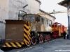 Gli spazzaneve Vnx 806 221 del MFP e Beilhac S244  al Porte Aperte di Torino Smistamento. (08/10/2011; foto Pietro Zitano / tuttoTreno)