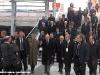 Il Presidente della Repubblica Giorgio Napolitano nella nuova stazione di Torino Porta Susa prima di partire per Milano con il Frecciarossa Tricolore ETR 500 45. (20/03/2011; foto Angelo Nascimbene / tuttoTreno)
