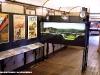 """Il diorama delle BBÖ esposto alla Mostra """"Signori, in carrozza! L'età d'oro del turismo ferroviario attraverso affiches, diorami e modelli"""", allestita a bordo delle due vetture """"centoporte"""" Bz 36111 (1931) e 36484 (1933) al Museo Ferroviario di Lecce. (13/09/2011; foto Francesco Comaianni / tuttoTreno)"""