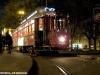 Il tram 2047 dell'ATAC di Roma ripreso a Porta Maggiore in versione natalizia. (Roma, 03/12/2009;; foto Giancarlo Modesti / tuttoTreno)
