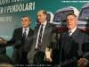 Un momento della conferenza stampa di presentazione dei nuovi treni Vivalto e dei programmi di investimento per i treni regionali a Roma Termini. (05/04/2012; foto Pino Senese / FS Italiane / tuttoTreno)