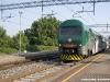 Il complesso TAF 08 (ALe426/ALe506 008), nella nuova livrea di Trenord, effettua il treno 23044 Treviglio–Varese della linea S2. (Albizzate-Solbiate Arno, 28/06/2011; foto Paolo Di Lorenzo / tuttoTreno)