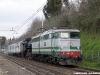 Il trasferimento della 640 003 da Pistoia a Roma Smistamento, a cura della E 646 196. (Fidene, 21/03/2011; foto Davide Porciello / tuttoTreno)