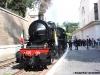La 685 089 con il Caritas Express in attesa di partire dalla stazione della Città del Vaticano per Orte. (Roma, 21/05/2011; Francesco Maria / tuttoTreno)
