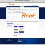 nuova web page Roco