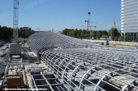 Una foto del cantiere della nuova stazione di Torino Porta Susa. (© Ferrovie dello Stato / tuttoTreno)