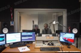 La redazione FSNews Radio in Piazza Croce Rossa a Roma, nella sede delle FS. (© Ferrovie dello Stato / tuttoTreno)