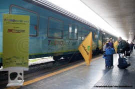 Presentazione del Treno Verde 2011 organizzato da FS e Lega Ambiente. (Roma, 10/03/2011; © Ferrovie dello Stato / tuttoTreno)