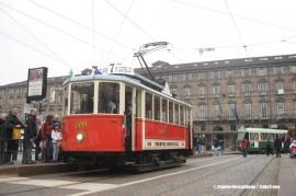 L'inaugurazione della linea 7 della rete tranviaria di Torino espletata con tram storici. (Torino, 27/03/2011; © Angelo Nascimbene / tuttoTreno)