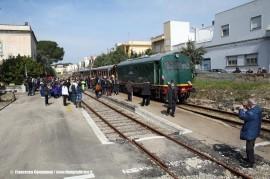 L'arrivo del Salento Express a Tuglie. (26/03/2011; foto Francesco Comaianni / tuttoTreno)