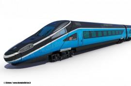 Il rendering del Pendolino che Alstom realizzerà  per PKP Intercity nello stabilimento di Savigliano. (copyright Alstom / tuttoTreno)