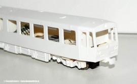 Le casse delle automotrici M4 in fase di realizzazione da parte del nuovo marchio FrecciaAzzurra